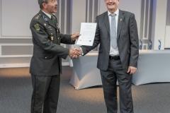 In de categorie Historie en traditie Verbindingsdienst ging de award naar kol b.d. Frank Peersman